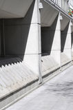 Concrete architecture Stock Images