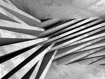 Concrete architecture background. Abstract empty dark room Stock Image