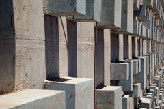 Concrete Architecture blocks Royalty Free Stock Photo