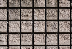 Concrete Background. Pattern: Rough concrete bricks texture royalty free illustration