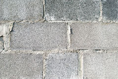 Concrete baksteen Stock Foto