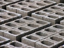Concrete Bakstenen Stock Foto's