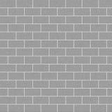 Concrete Bakstenen muur Royalty-vrije Stock Fotografie