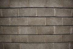 Concrete bakstenen muur Royalty-vrije Stock Afbeeldingen