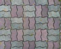 Concrete Bakstenentextuur stock afbeelding