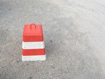 Concrete barrier Royalty Free Stock Photo