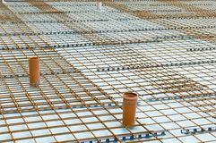 Concrete baseplate Royalty Free Stock Photography