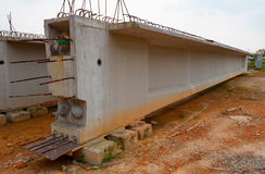 Concrete beams Royalty Free Stock Image