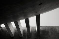 Yad Vashem, The World Holocaust Remembrance Center in Jerusalem, Concrete beams. Detail of concrete beams and roof at Yad Vashem, Jerusalem, 2015 Royalty Free Stock Photo