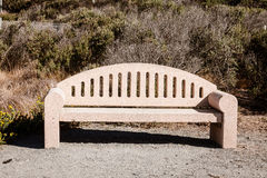 Concrete bench Royalty Free Stock Photo