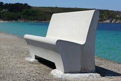 Concrete bench Stock Photography