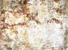 Concrete bevlekte geruïneerd muurtextuur Royalty-vrije Stock Foto's