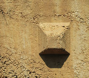 Concrete Bin Block Stock Photo