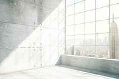 Concrete binnenlandse NYC Stock Foto