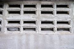 Concrete and blick block wall Stock Image