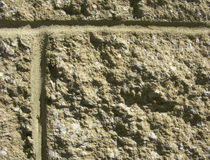 Concrete Block Close-up Stock Photography
