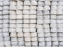 Concrete block for construction. Background royalty free stock photo