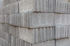 Concrete Block For Construction Background and Texture Stock Photo