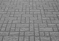 Concrete block floor background and texture Royalty Free Stock Image