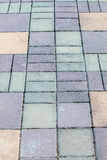 Concrete block pathway. Is background Royalty Free Stock Photo