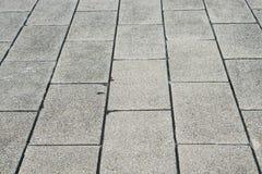 Concrete block road texture Royalty Free Stock Photo