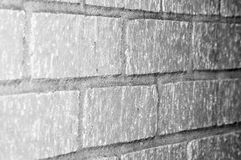 Concrete block wall Royalty Free Stock Images