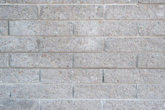 Concrete block wall as abstract background Royalty Free Stock Photography