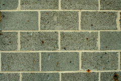 Concrete block wall background Royalty Free Stock Photos