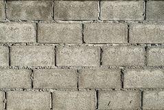 Concrete block wall Royalty Free Stock Photo