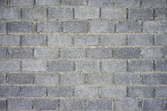 Concrete block wall  background building. Royalty Free Stock Images