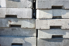 Concrete block wall background Royalty Free Stock Image