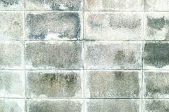 Concrete block wall. Background texture Royalty Free Stock Photo