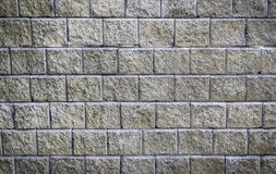 Concrete block wall background Stock Photos