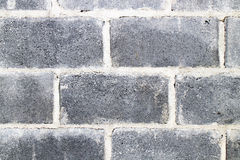 Concrete block wall background texture. Royalty Free Stock Photo