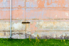 Concrete block wall Royalty Free Stock Photo