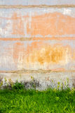 Concrete block wall Stock Photos