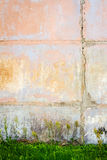 Concrete block wall Stock Photography