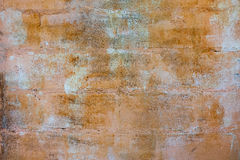 Concrete block wall paint surfaces style vintage Royalty Free Stock Photography