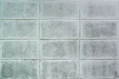 Concrete block wall pattern. Background stock photos