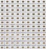 Concrete block wall Stock Image