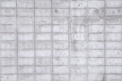 Concrete block wall seamless background and texture Royalty Free Stock Photos