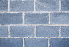 Concrete block wall Royalty Free Stock Image