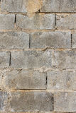 Concrete Block Wall, Texture Stock Photography