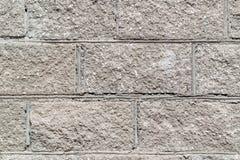 Concrete block wall texture Stock Photo