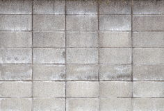 Concrete block wall Royalty Free Stock Photography