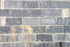 Concrete block walls background Stock Image