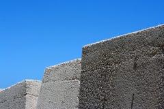 Concrete blocks Stock Image