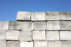 Concrete blocks Royalty Free Stock Images