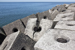 Concrete Blocks Stock Photography