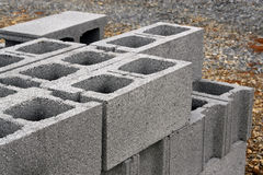 Concrete blocks Stock Photos